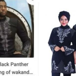 Baju Raya Inspirasi Dari Filem Black Panther. Ada Yang Nak Pakai Ke?