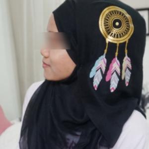 Elakkan Fitnah, Wanita Muslim Dinasihat Elak Pakai Tudung Dreamcatcher