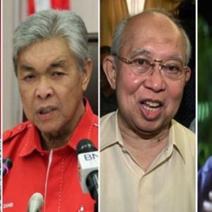 KJ, Zahid, Kuli & Blogger Rebut Jawatan Presiden UMNO