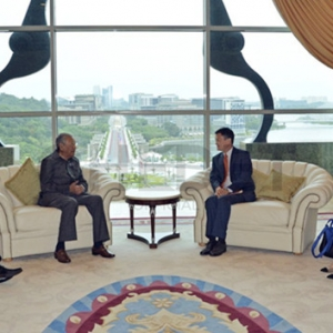 Jack Ma Buat Pertama Kali Bertemu Tun Mahathir Di Pejabat PM