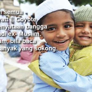 """""""Muslim Lokek Tak Nak Kongsi Raya"""" - Netizen Marah 'Ex-Muslim' Bangga Sambut Raya"""