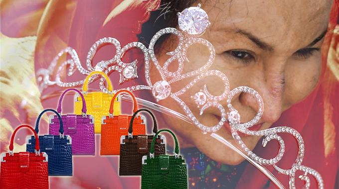 Motif Rosmah Ada Koleksi Tiara , Dia Ingat Dia Sailormoon Ke Apa ...