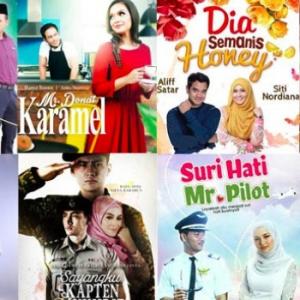 Drama Melayu Kalau Tak Adaptasi Novel, Mesti Cerita Asyik Terlanggar Bahu