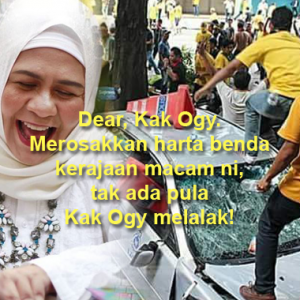 'Dear Kak Ogy...' - Fauziah Ahmad Daud Pula Dikecam Netizen