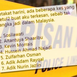 """""""Malaysia Tak Aman Dah!"""" - Ini Antara Kes Tak Disangka Berlaku Di Malaysia"""