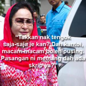 Najib, Rosmah Kantoi! Ini Semua Muslihat Dapatkan Balik Barangan Kemas - Netizen