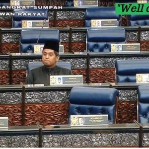 """""""Steady Lah Abah!"""" - Video KJ Di Dewan Rakyat Cetus Fenomena Luar Biasa"""