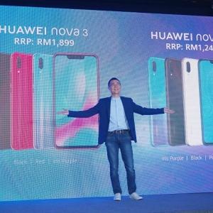 Meletup! Huawei Lancar Nova 3 Dan Nova 3i Dengan Kamera 24MP, Memori 128 GB