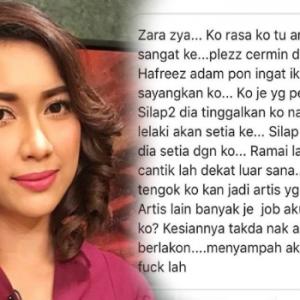 Dikutuk Artis Perasan Bagus, Peminat Zara Zya Turut Bengang...