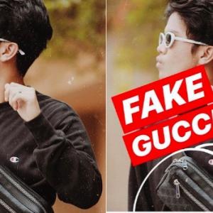 Haqiem Rusli Acah Tunjuk Resit Gucci Palsu? Panas Berhujah Dengan Admin IG Ini