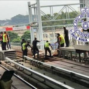 """Mayat Di Landasan LRT: """"Jangan Buat Sebarang Spekulasi"""" - Rapid Kl"""