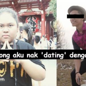 Lelaki Ini Tagih 500 Ribu RT, Semata-mata Nak Keluar Dating Dengan Cik B