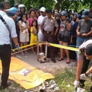 Bakar Longgokan Sampah, Terbakar Mayat Bayi Sekali