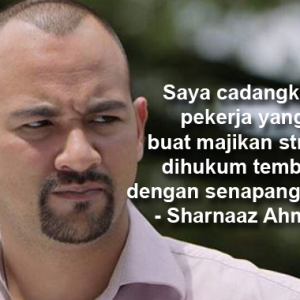 """""""Bodohlah Artis Ni..."""" -  Nak Tembak Pekerja Buat Bos Stres, Sharnaaz Ahmad Dikecam"""