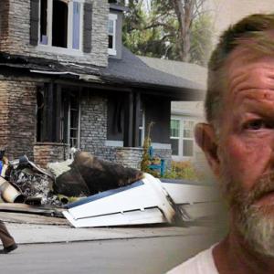 Nak Bunuh Isteri, Lelaki Rempuh Rumah Dengan Pesawat