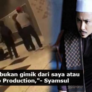 Penonton Munafik Kepanasan 'Disentuh Jin', Syamsul Yusof Nafi Gimik Filem...