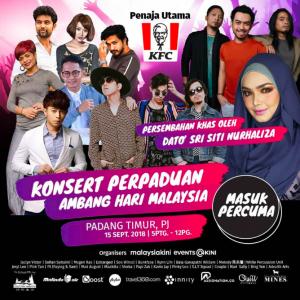 Jom Countdown Hari Malaysia Dengan Konsert Perpaduan, Penampilan Khas Siti Nurhaliza!
