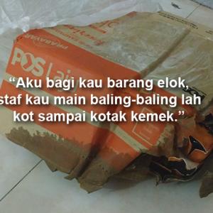 """""""Skynet Curi Barang, Pos Laju Pecahkan Barang... Apa Nak Jadi Dengan Kurier Malaysia?"""""""