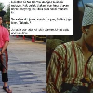 Pemuda Ini Berbaju Melayu Di Khalayak Ramai, Martabat Atau Acah Viral?