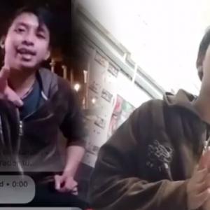 'Saya Saja Je Bang' - Sampai Terkentut Abang Long Setapak Takut Kena Tibai