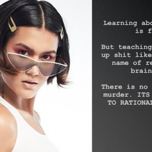 Tak Masuk Akal Ajar Budak Bunuh Orang Murtad! - Alicia Amin