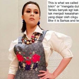 Jihan Muse Eja 'Talibesen', Ada Hati Nak Dipanggil Artis? - Netizen