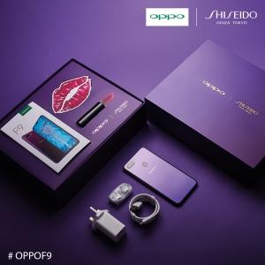 Memukau! Oppo F9 Tampil Dengan Edisi Terhad Starry Purple, Kolaborasi Dengan Shiseido