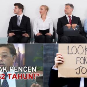 """""""Pakcik Makcik Gomen Kerja Sampai Warga Emas, Sampai Anak Muda Jobless"""""""