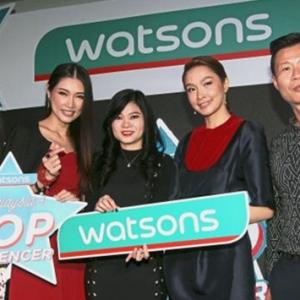 Jom Sertai 'Malaysia's Top Social Influencer' Anjuran Watsons