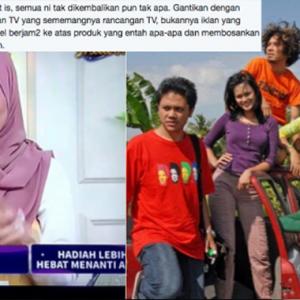 Stesen TV Asyik Tayang Iklan Produk, Mana Program Cerita Kami?