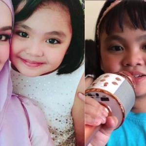 Bakat Cilik Anak Saudara Siti Nurhaliza Jadi Siulan