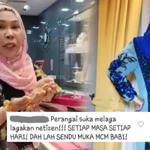 """""""Muka Macam B*B*!"""" -  Aishah Kesal Dituduh Suka Melagakan Netizen..."""