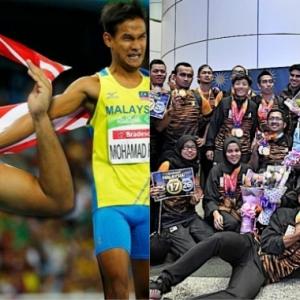 Tak Adil! Atlet Para Yang Menang Medal Sahaja Disambut Melalui Pintu Depan Di KLIA