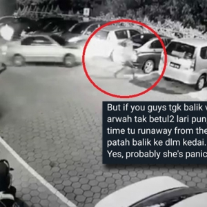 """""""Arwah Tak Betul-betul Lari Pun"""" - Netizen Berang Individu Kritik Mangsa Langgar Lari"""