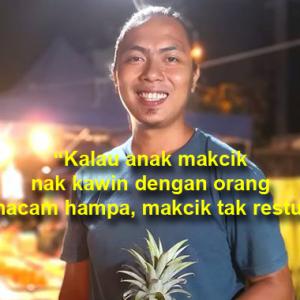 """""""Rugi Tak Sambung Belajar"""" - Bila Makcik Bawang Kolot Memperlekeh Peniaga Pasar Malam..."""