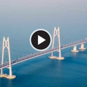 Jambatan Atas Laut Terpanjang Dunia Dibuka Untuk Kegunaan Awam Esok