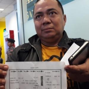 Terlepas Penerbangan Akibat Kesesakan Trafik, Sony Terselamat Dari Tragedi Lion Air