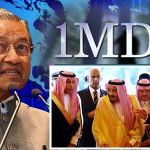 Arab Saudi Nafi Derma RM2.6 Bilion, Terpulang Najib Nak Kata Apa- Tun Mahathir