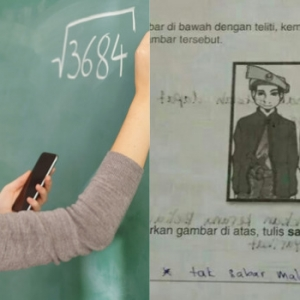 """""""Ingat Lucu Ke Sebarkan Kertas Jawapan Murid?"""" - Netizen Perli Guru Yang Memalukan Pelajar"""