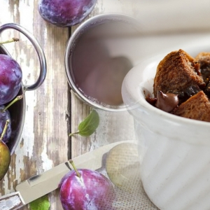 Enak Dan Menyihatkan! Ini Resipi Puding Roti Coklat Bersama Prune