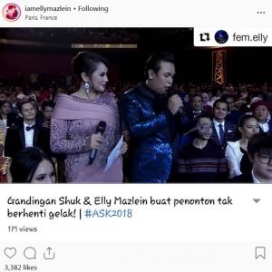 Terharu Dipuji, Elly Mazlein Mahu Kembali Ke Malaysia Secepat Yang Mungkin...
