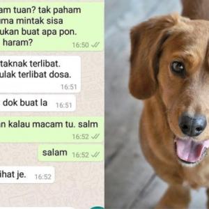 'Anjing Tu Haram,  Nanti Restoran Saya Terlibat Dosa!' - Hanya Sebab Minta Sisa Makanan