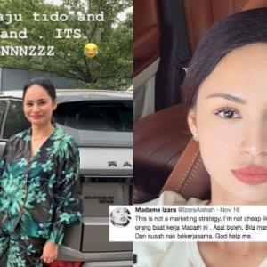 Izara Aisyah Dituduh Mendiva Sebab Kritik 'Wardrobe' Pemberian Produser