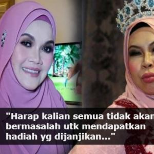Aishah Harap Pemenang Gegar Vaganza (GV5) Tak Alami Nasib Yang Sama Dengannya..