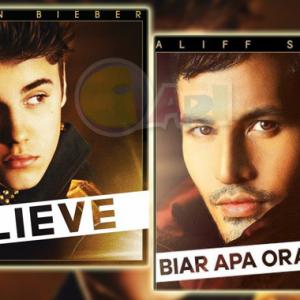 'Biar Apa Orang Kata' Aliff Syukri Terlajak Ciplak Kulit Album Justin Bieber?
