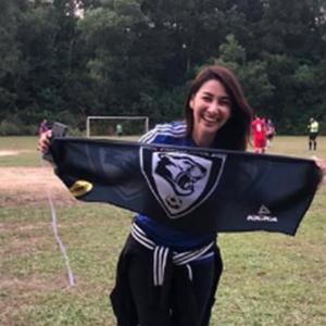 Rita Rudaini Kelu, Anak Minta Daddy Baru Pandai Main Bola