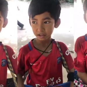 Petah Bertutur 15 Bahasa, Remaja Penjual Cenderamata Dari Cambodia Tular Seluruh Dunia