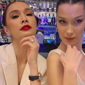 Scha Alyahya Lebih Cantik Dari Bella Hadid - Netizen