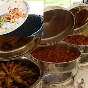 Memang Perangai Orang Kita Suka Membazir Makanan Di Majlis Kahwin Ya?