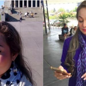 Jasmin Hamid Perli Siapa Pakai Telefon Bimbit  Di Set Shooting?
